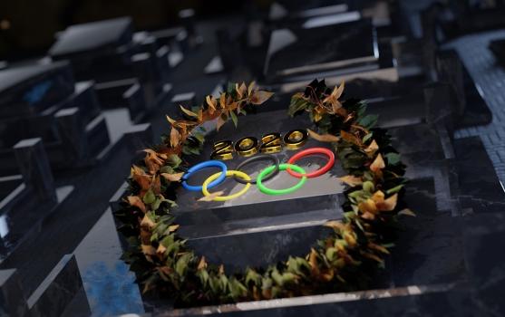 Olympischen Spielen 2021 logo