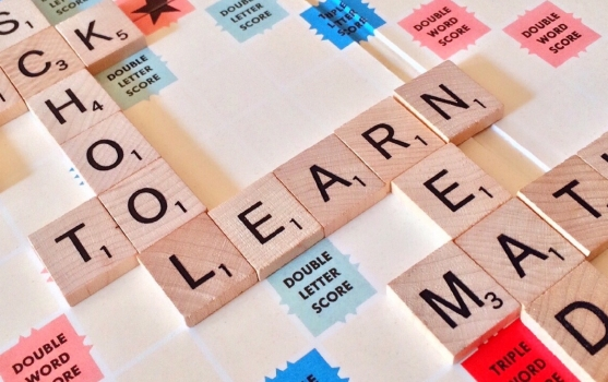 juegos de letras que muestran la palabra learn
